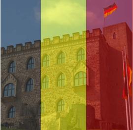 """Hambacher Schloss, """"Wiege"""" der deutschen Demokratie"""